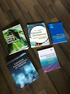 First Year BScN textbooks