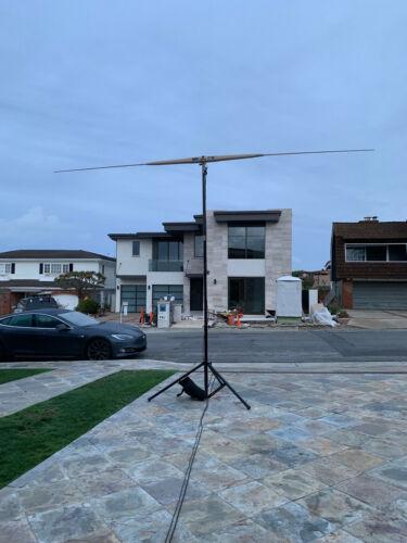 STEALTH TELECOM HF ANTENNA NEW dipole 9390 and mast