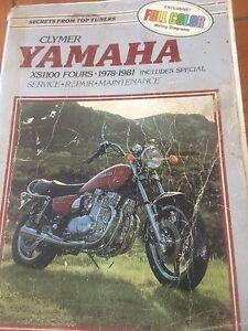 Clymer 1978-1981 Yamaha XS1100 Manual