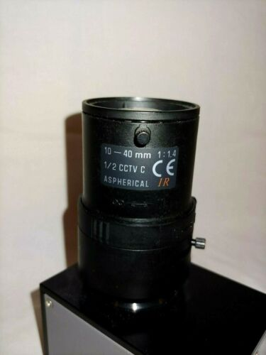"10-40 MM 1:1.4 Aspherical 1/2"" CCTV C Lens CE IR"