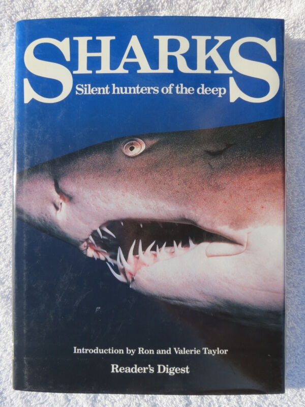 SHARKS BOOK MARITIME NAUTICAL MARINE (#170)