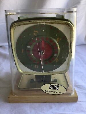 Vintage Borg Household Scale 5LB Mid Century Modern Retro Kitchen Scale Weight