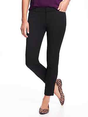 Regular Length Pant (New Old Navy Black Pixie Mid Rise Ankle Length Pant size 14 Regular)