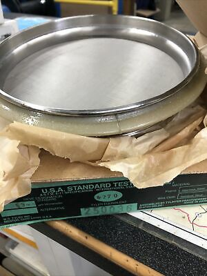 Usa Standard 270 Testing Sieve 45 Micrometer New Haver Boecker