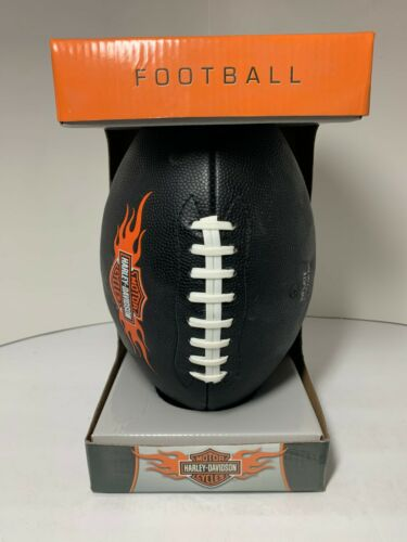 HARLEY-DAVIDSON  OFFICIAL SIZE & WEIGHT FOOTBALL