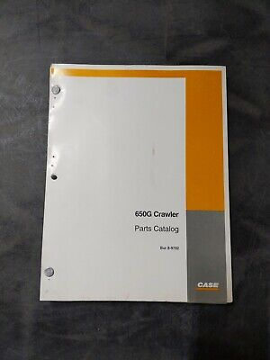 Case 650g Crawler Parts Catalog