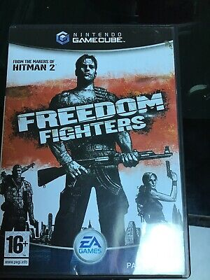 Nintendo Gamecube Freedom Fighters Video Game (UK PAL) *COMPLETE* with Manual for sale  Shipping to Nigeria