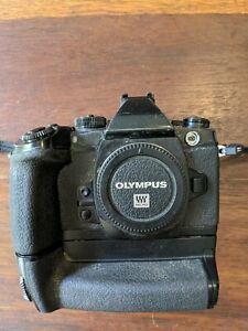 Olympus EM1 body and battery grip