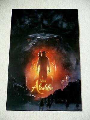 "2019 Disney ""ALADDIN"" Movie Poster 13"" x 19"" New"