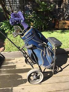 Left hand golf clubs. Abbotsford Yarra Area Preview