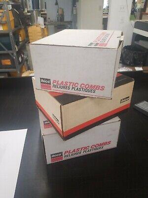 34 Ibico Binding Combs Various Colors 100per Box