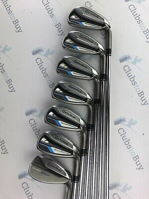 TaylorMade Speedblade Irons Mens Right Hand Regular Flex Steel 5 - SW