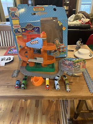 Thomas & Friends Take Along Morgans Mine Adventure Set 35 Piece Train Set lot