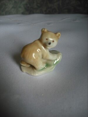 WADE WHIMSIE -  BROWN  BEAR CUB POSED WALKING - EARLY IST SERIES MODEL 1960's for sale  Shipping to Ireland