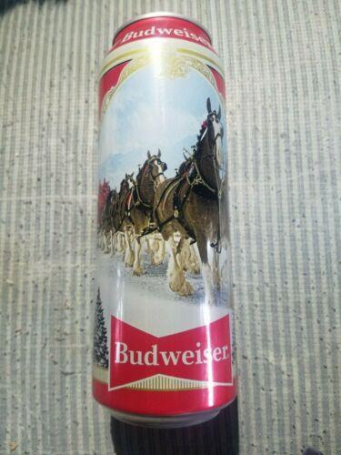 Budweiser 2019 Xmas 25 oz beer can