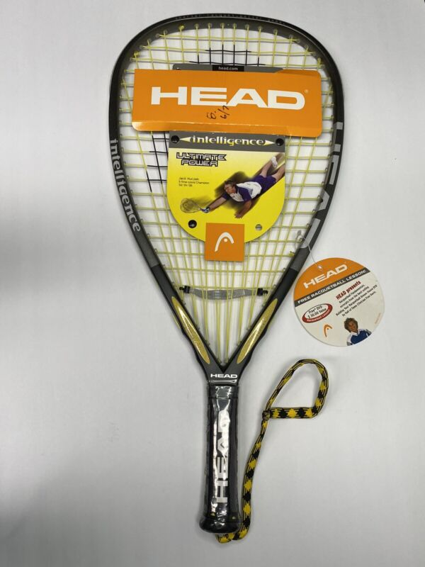 HEAD i.165 Racquetball Racquet Strung 3 5/8 Inch Grip Intelligence Ultimate NEW