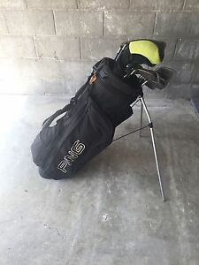 PING GOLF BAG & young gun clubs Waverley Eastern Suburbs Preview
