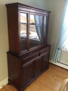 Buffet hutch china cabinet