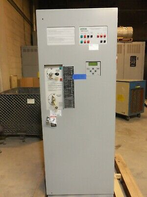 Asco 260 Amp Ats Automatic Transfer Switch 480v277v 3 Phase 4 Pole 7000 Series