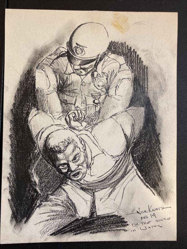 Original Art by Nikita Knatz- Signed!