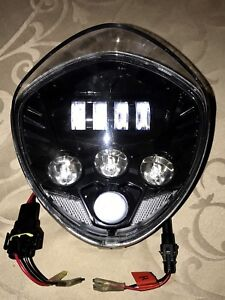 * SOLD ... VICTORY CROSS COUNTRY LED HEADLIGHT