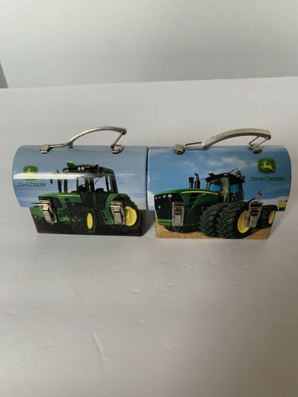 2 Mini John Deere Lunch Boxes