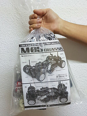 "TAMIYA M-05 CHASSIS BAUSATZ IN DER ""TÜTE"" - EXKLUSIV BY RACERS PARADISE!"