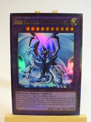 Proxy  Orica Custom Dark Magician   White Dragon Ultra Rare