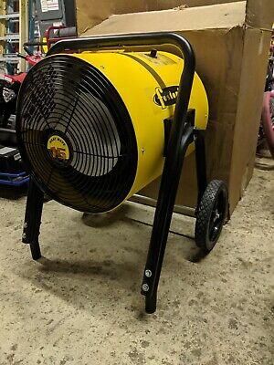 Fostoria Heatwave 15 Portable 480 Volt 3 Phase 18 Amp Heater