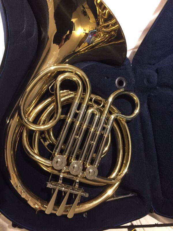 John Packer single F Horn (beginner) with case