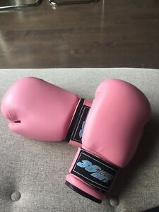 Boxing Gloves (Pink) - 10 oz