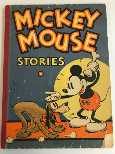 1934 Micky Mouse Stories Book No. 2