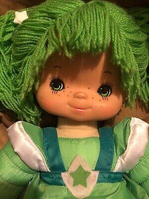 "Vintage 1983 Mattel Hallmark Rainbow Brite Patty O'Green Plush 18"" Doll"