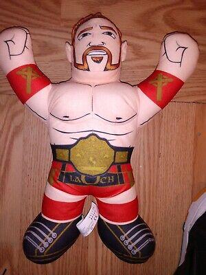 "WWE Sheamus Brawling Buddies Talking Plush Wrestling 16"" Mattel 2012 Brawlin'"