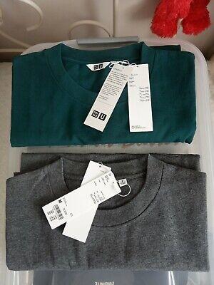 BNWT, 2 Uniqlo Kanye Style Box Fit Plain T-shirt's  - UK Medium