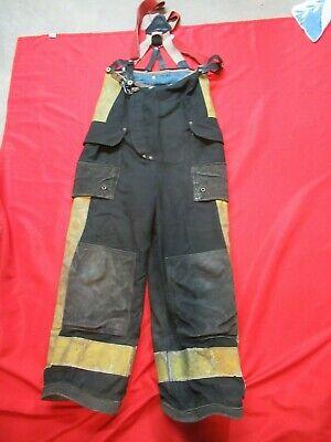 28 X 26 1994 Janesville Lion Firefighter Fire Pants Bunker Turnout Gear Vtg