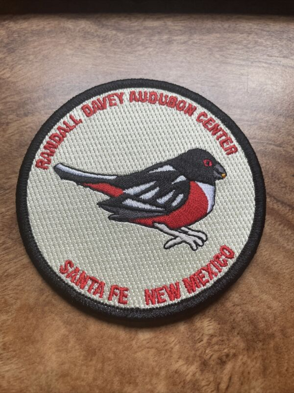 "Randall Davey Audubon Center Santa Fe NM New Mexico Patch Iron On 4"" Rare Logo"