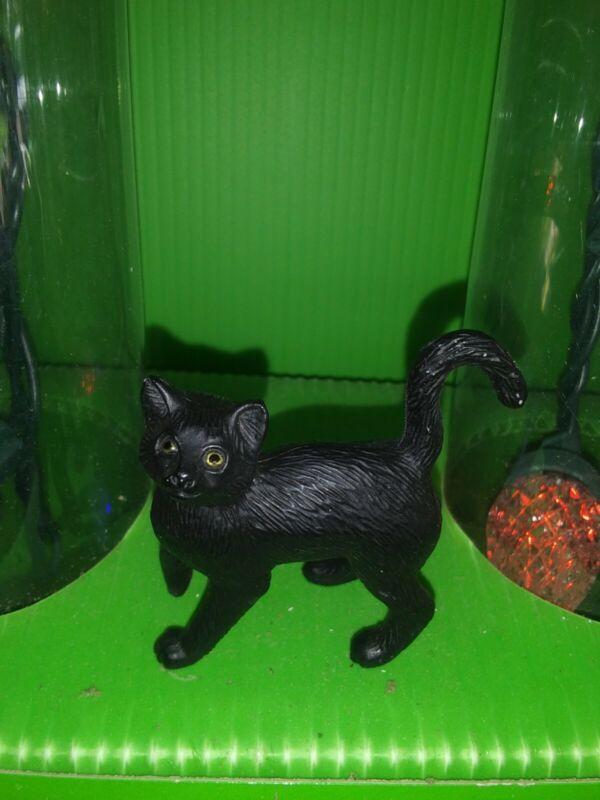 Vintage Breyer 1999 Classic Vet Care Standing Black Cat Reeves Companion Animal