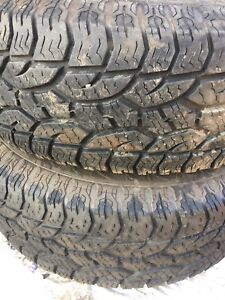 265 75 16 Hercules Terra Trac AT 80% tread