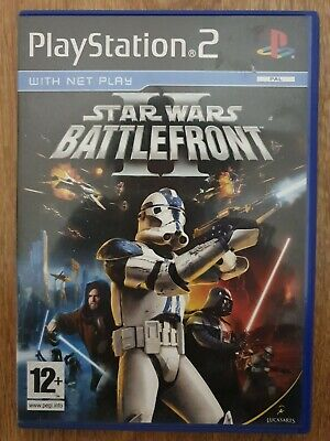 Star Wars Battlefront 2 Ps2 Game