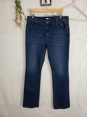 Skinny Jeans Tall Boots - Old Navy Womens Jeans Size 16 Tall Long boot cut skinny med dark wash stretchy