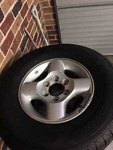 D22 Nissan Navara Wheels and Tyre Combo Orchard Hills Penrith Area Preview