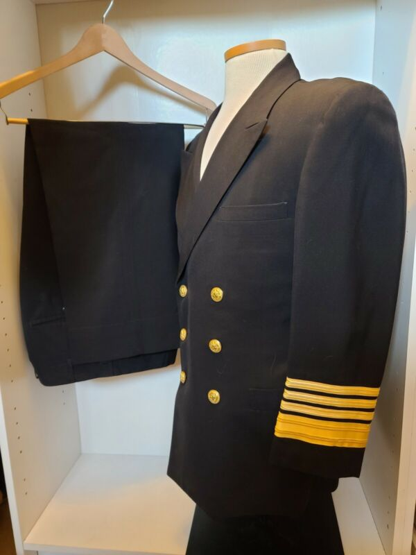 Navy Four Star Admiral Uniform And Trousers