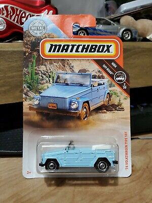 Matchbox 1974 74 vw Volkswagen type 181 thing blue