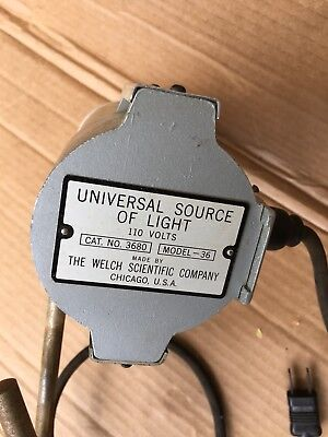 Welch Scientific Company Universal Source Of Light