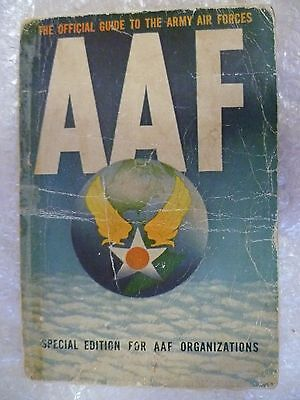 1944 Official Guide to the Army Air Forces,Special Edition for AAF Org. P in USA