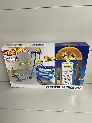 Hot Wheels Track Builder Vertical Launch Kit - GGH70 New in Box E4