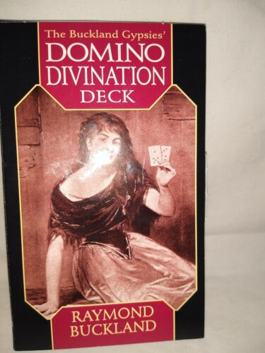 The Buckland Gypsies Domino Divination Deck Cards Tarot Fortune Telling Complete - $49.99