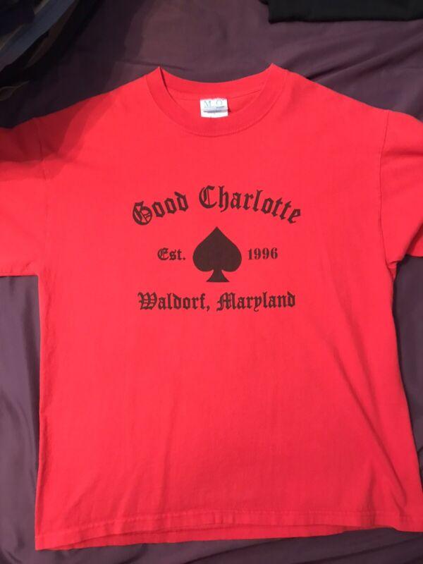 good charlotte shirt Preowned L