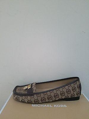 MICHAEL Michael Kors  Women's Hamilton Monogram Jacquard Loafer  Size 8 NIB